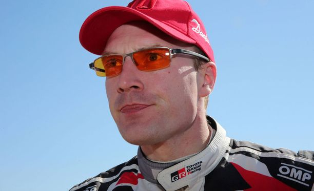 Jari-Matti Latvala tipahti kolmanneksi.