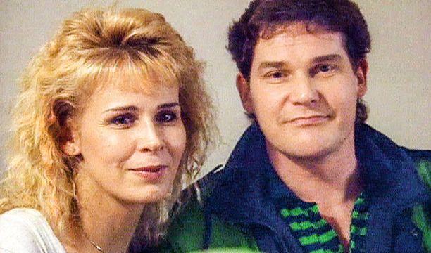 Aviopari Karin ja Hannes Luotola silloin, kun kaikki oli vielä hyvin.