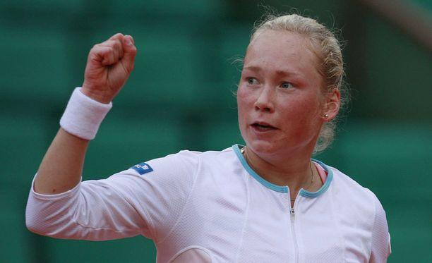 Emma Laine oli vuonna 2006 uransa toistaiseksi parhaalla sijalla naisten WTA-listalla.