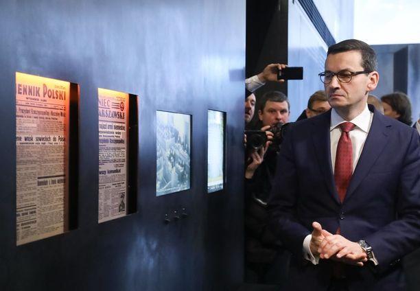 Puolan pääministeri on lähdössä vierailulle Berliiniin.