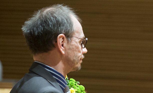 Ari Marjeta osallistui vuonna 2014 SDP:n puoluevaltuuston kokoukseen.