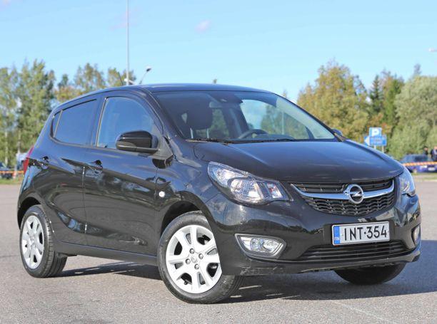 Käytetyn 2015-mallisen Opel Karlin hinnat alkavat noin 9 000 eurosta.