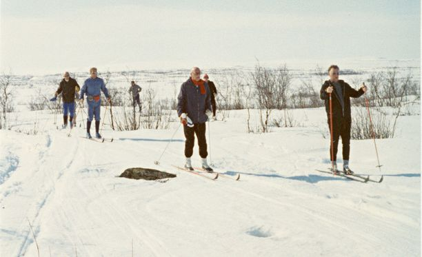 Kekkonen oli tyytyväinen, jos onnistui päivän hiihdon aikana pudottamaan jonkun kärkiporukasta.