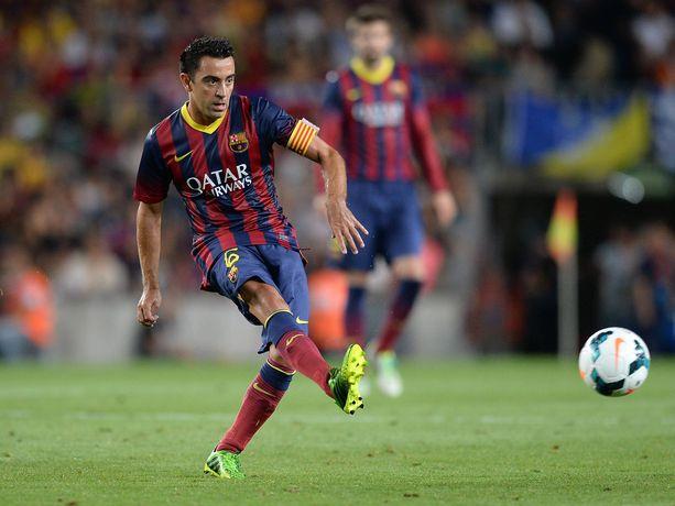 Xavi juhli Mestarien liigan voitto Barcelonan kanssa neljä kertaa.