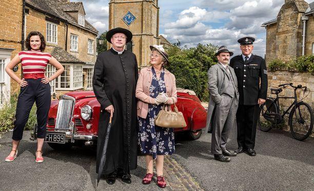 Bunty, isä Brown, rouva McCarthy, komisario Mallory ja ylikonstaapeli Goodfellow nähdään uusissa jaksoissa.
