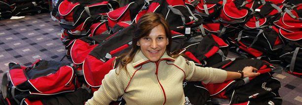 Claudia Heill vuonna 2008.