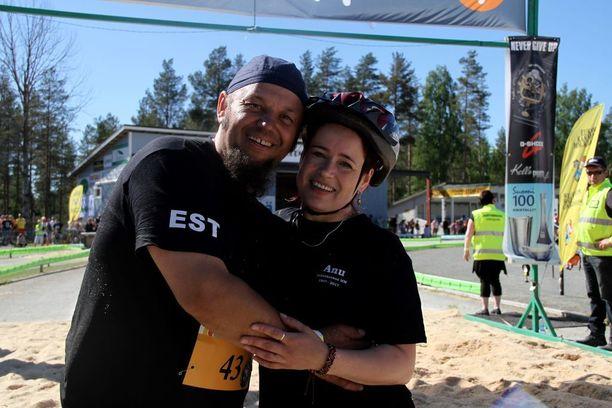 Janno ja Anu Sild saapuivat jälleen Virosta tapaamaan samanhenkisiä ihmisiä.