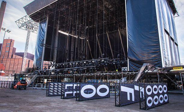 Flow Festival päätyi maanantaina otsikoihin aivan vääristä syistä.