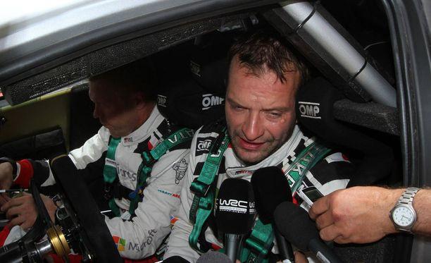 Juho Hänninen ajoi pohjat Sardinian 3. erikoiskokeella.