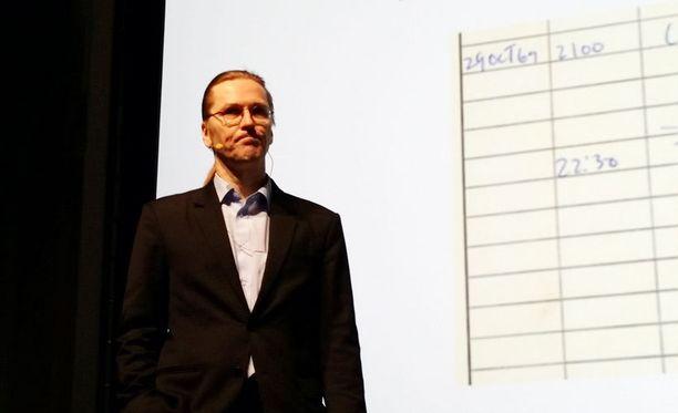 Mikko Hyppönen puhui internetin tulevaisuudesta Digiexpossa.