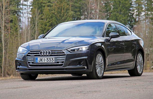 Audin ilme on edeltäjäänsäkin virtaviivaisempi.
