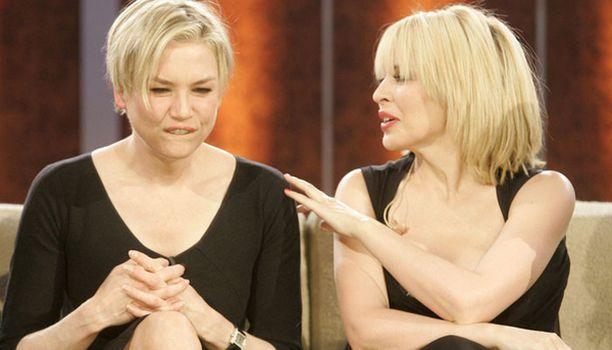 Talk show'ssa oli vieraana myös näyttelijä Renee Zellweger.