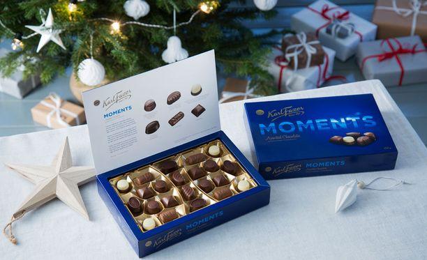 Fazerin teettämän tutkimuksen mukaan 80 prosenttia suomalaisista ostaa jouluna suklaata, joko kotiin tai lahjaksi.