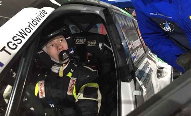Kalle Rovanperä ajaa Mikkelissä uran ensimmäistä SM-rallia.