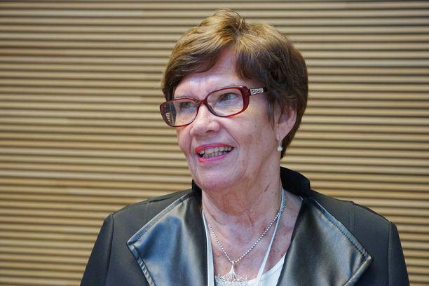 Kansanedustaja Sirkka-Liisa Anttila.