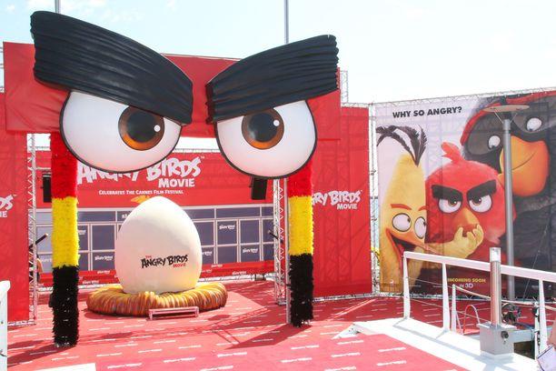 Ensimmäinen Angry Birds -elokuva ilmestyi vuonna 2016.