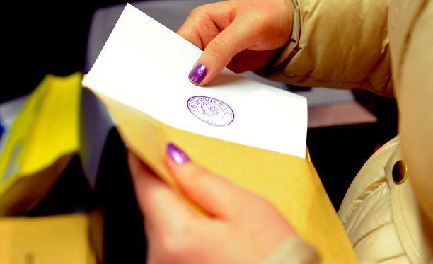 Eduskuntavaaliehdokkaan ääni katosi Siikaisissa.