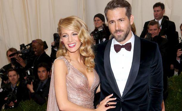 Blake Lively ja Ryan Reynolds ovat olleet naimisissa kolme vuotta.