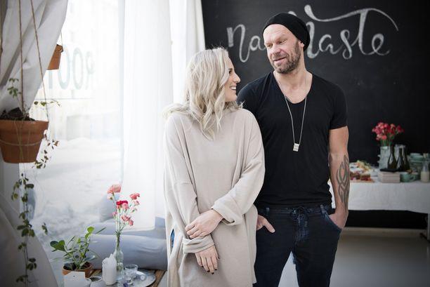 Nanna ja Jere Karalahti kertoivat helmikuun loppupuolella.