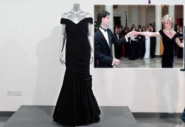 Dianan legendaarinen mekko ei mennyt kaupaksi.
