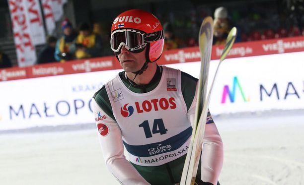 Janne Ahonen antaa MM-näyttöjä ensi viikonloppuna Willingenissä.
