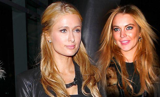 Bilekaverukset Paris Hilton ja Lindsay Lohan eivät ole enää väleissä.