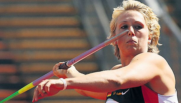 Christina Obergföll haluaa mitalin Osakasta