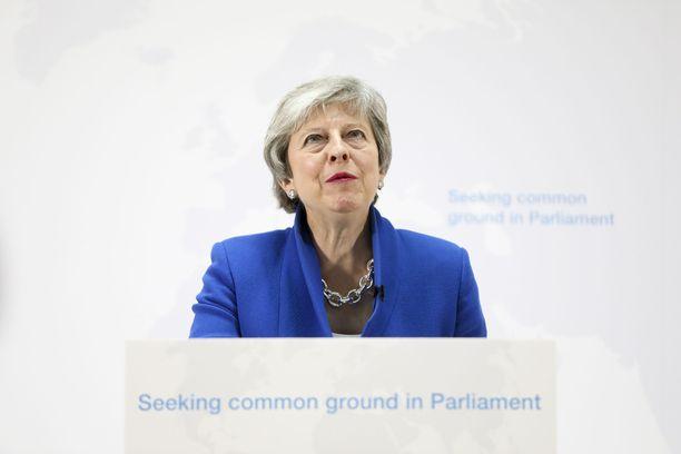 Theresa Mayn tiistainen puhe ei joidenkin hänen ministeriensä mielestä vastannut sitä, mistä aiemmin oli sovittu.