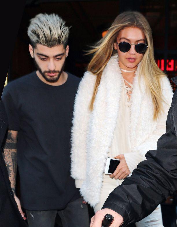 Hadid seurustelee nykyään laulaja Zayn Malikin kanssa.