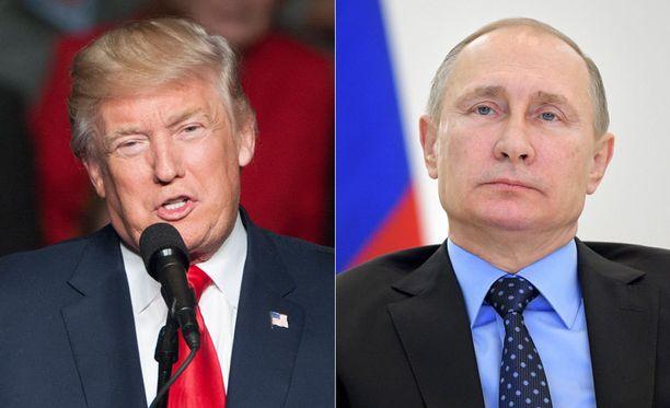 Donald Trump kehui Vladimir Putinin päätöstä perua amerikkalaisdiplomaattien karkotukset.