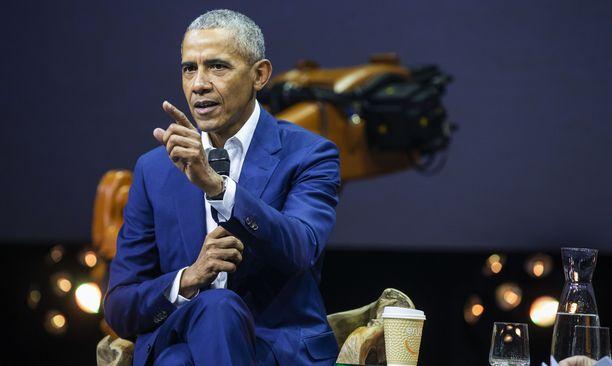 Obama toimi Yhdysvaltain presidenttinä kaksi kautta ennen Donald Trumpin hallintoa. Kuva vuodelta 2018.