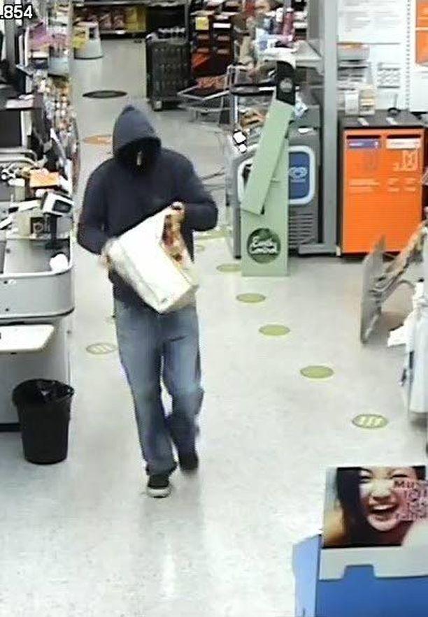 Poliisi pyytää vihjeitä ryöstön tekijästä.