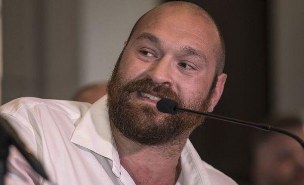 Tyson Fury ei ole huippu-urheilijan mitoissa.