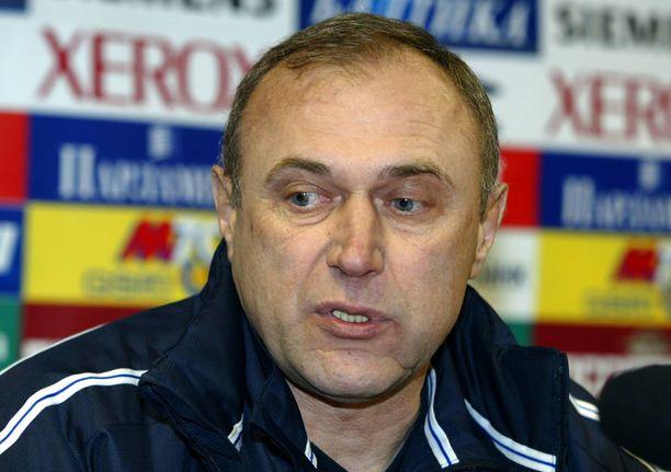 Oleg Dolmatov oli valmentajana aikaansa edellä. Kuva vuodelta 2005.