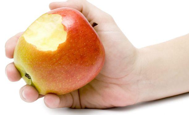 Anna mennä, omena tekee hyvää!