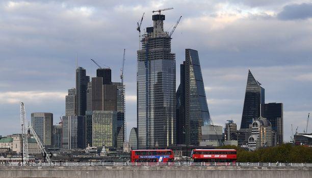 Iso kysymys on, miten käy Lontoon Cityn alueen brexitin jälkeen.