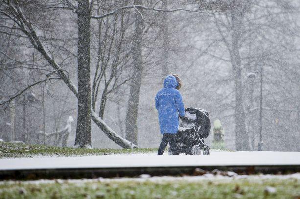 Tällä viikolla saattaa tupruttaa lunta jopa maan eteläosassa asti.