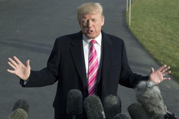 Trump väittää, että hänelle olisi jälleen tarjottu titteliä, jonka hän sai myös edellisenä vuonna.