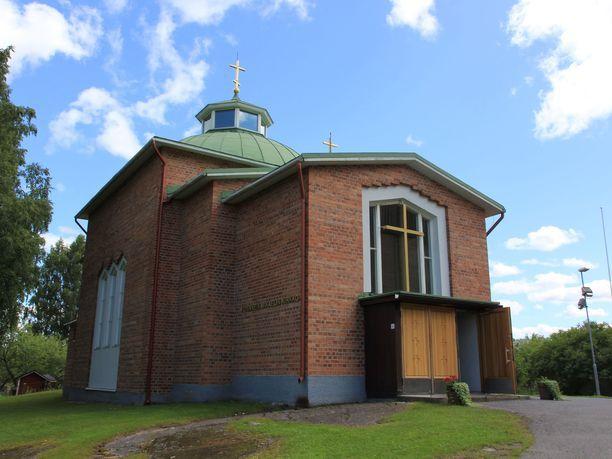 Pyhän ylienkeli Mikaelin ortodoksinen kirkko Mikkelissä.