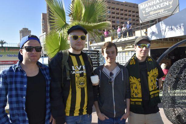 Tamperelainen kaveriporukka Jani Rummukainen, Sami Salmi, Mikko Koivunen ja Arttu Aalto olivat viikon lomalla Malagassa, mutta tulivat pelkästään huutokaupan takia piipahtamaan Fuengirolassa.