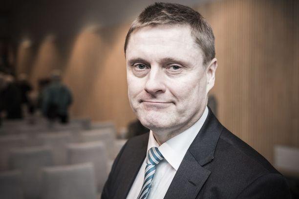 Veronmaksajien keskusliiton toimitusjohtaja Teemu Lehtinen.