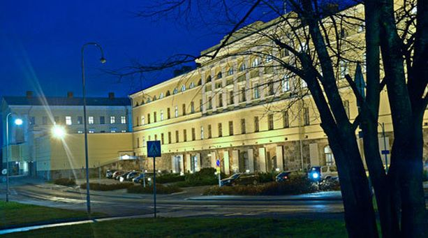 Ulkoministeriön toimitilat sijaitsevat Helsingin Katajanokalla.