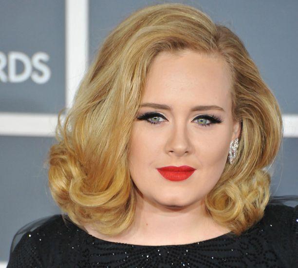Adele on palkittu muun muassa kuudella Grammylla.