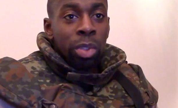 Amedy Coulibaly kuoli poliisin rynnäköityi kosher-kauppaan.