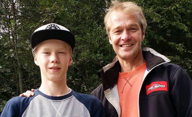Kalle Rovanperän Harri-isä voitti urallaan yhden MM-rallin.
