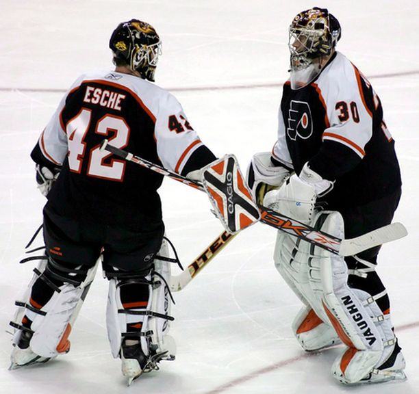 Robert Eschen Flyersien maalilla korvannut Antero Niittymäki ei kyennyt enää nostamaan joukkuetta 0-5 -tappioasemasta.