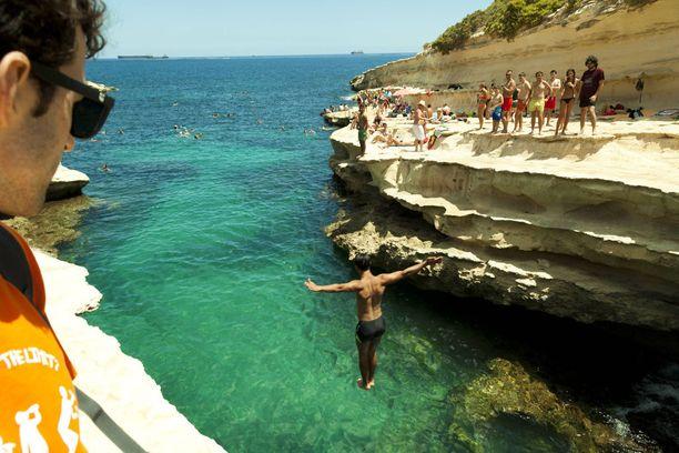 St. Peters Pool on Maltan tunnetuin luonnon uima-allas.