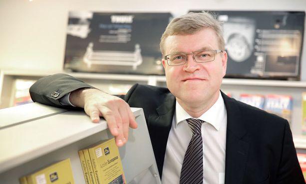 Autoliiton toimitusjohtaja Pasi Nieminen.