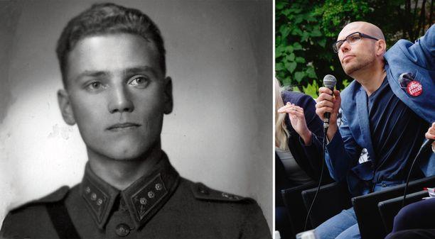 Oikeusneuvos Jussi Tapani (oik.) on tutustunut Lauri Törnin sotilasarvoa koskevaan kiistaan Törnin aikaisen lainsäädännön valossa.