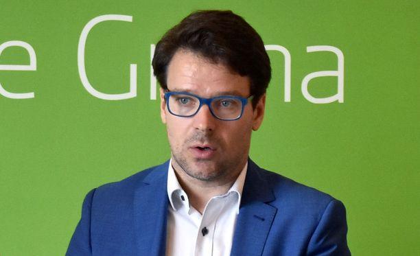 Vihreiden puheenjohtaja Ville Niinistö.